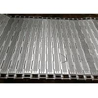 China 304 Stainless Steel Chain Plate Conveyor Mesh Belt Frozen Food Line Equipment on sale