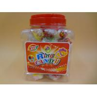 Best Ring Toy Compressed Candy With Dextrose Yellow / White / Green Color wholesale