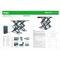 Best 1460mm Platform Length 3.2T Ultra Thin 2.2KW Electric Scissor Lift wholesale