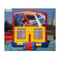 Best Outdoor Spiderman Module Inflatable Bounce Houses For Birthday Party wholesale