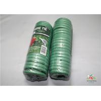 Cheap Adjustable Soft Foam Garden Plant Ties , Sturdy Plastic Garden Ties Size m L:9.9 Color green 36.5*15.5*19 for sale