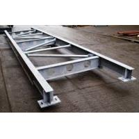China Q235 Galvanized Structural Steel Fabricators Exquisite Welding Process on sale