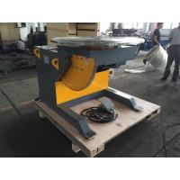 Best 5 Ton Rotary Welding Positioners With 3kw Tilting Motor , 0.14 Rpm Tilting Speed wholesale