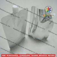 Aluminum Foil Plain Spout Pouch Packaging With Cap
