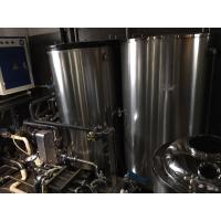 Cheap 30L - 5000L Beer Brewing Equipment , Double Head Home Brewing Equipment for sale