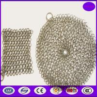 Buy cheap Pan cast iron cleaner/chainmail scrubber from wholesalers