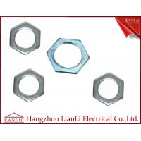 Cheap 20mm to 50mm Hot Dip Gal GI Hexagon Locknut 3.0mm to 6.0mm Thickness for sale