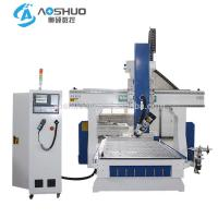 Best Automatic Sheet Metal Cutting Machine CNC Router For Aluminum Taiwan TBI Ball Screw wholesale