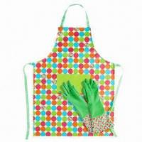 Best Kitchen Apron for Adults/Children, Made of PVC/Polyester/Cotton, Customized Sizes are Welcome wholesale