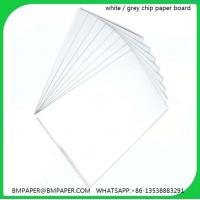 Best Grey cardboard single ply double side grey cardboard for calendar wholesale