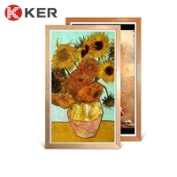 Best 1920*1080 Outdoor Digital Signage Android Photo Wooden Frame wholesale
