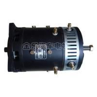 Details of low noise black forklift drive motor 48v 4 8kw for Low noise dc motor