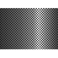 Best Anti Aging Steel Plate Perforated Metal Mesh For Filter 3mm - 200mm Aperture wholesale
