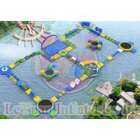 Best Challage Customzied Inflatable Water Toys / Large Floating Water Park wholesale