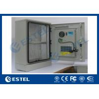 Best Single Wall Stainless Steel Outdoor Telecom Cabinet With Cooling System / Air Conditioner Type Telecom Enclosure wholesale