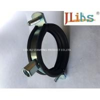 Quality Cast Iron Pipe Round Pipe Clamps Gi Pipe Clamp With M8 M10 Combi Nut And Rubber And Bolt wholesale