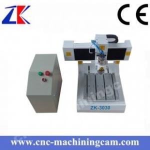 Best Mini desktop printed circuited board cnc router  ZK-3030(300*300*80mm) wholesale