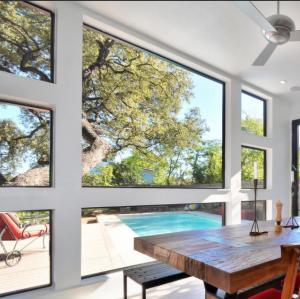 Best Large glass luxury fixed glass aluminum window wholesale