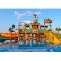Best Summer Outdoor Water Slide Construction Aqua Park Water House Design Build wholesale