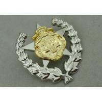 Best Army Zinc Alloy Custom Medal Awards 2 Pcs Combined With Double Tones Plating wholesale