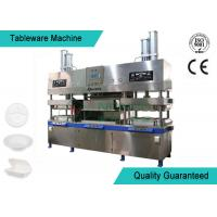 Quality Easy Operating Wood Fiber Paper Plate Manufacturing Machine Semi Automatic wholesale