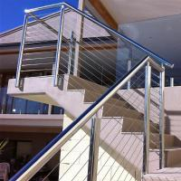 Best Outdoor Stainless Steel Wire Balustrade / Railing for Balcony wholesale