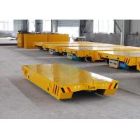 Best Towed transfer car running on rails with cast steel wheel powered from forklift wholesale