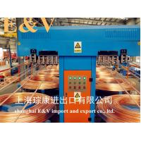 Best Low Oxygen 8mm Copper Rod Upward Casting Machine With 7920H Working Hour wholesale