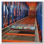 Best Fully Automatic Warehouse Radio Shuttle Racking System Powder Coating Surface wholesale