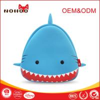China Personalized Shark Shaped Backpack With Spikes OEM , Cute Teen Backpacks For Travelling Hiking on sale