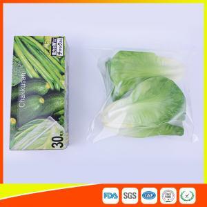 Best Resealable LDPE Clear Ziplock Freezer Storage Bags For Vegetable wholesale