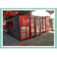 Quality Temporary Construction Goods Passenger Lifts Double Cages Vertical wholesale