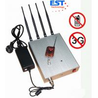 Best 3G Mobile Phone Remote Control Jammer / Blocker EST-505B With 4 Antenna wholesale