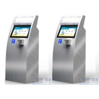Cheap 17 Inch Health Kiosk Touch Screen Information Pharmacy With Multimedia Speaker for sale