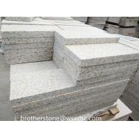 China Cheap Price Natural Stone Rustic Yellow Granite Paving Stone For Patio for sale