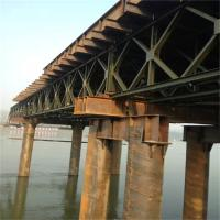 Best Galvanized Bailey  Steel Deck Panels Pins Connecting For Modular Steel Bridges wholesale