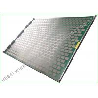 China SUS316 Rock Shaker Screen Double Hook Durability Oil Vibrating Screen on sale