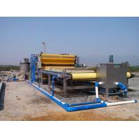 Best Continuous Sludge Dewatering Belt Fliter Press For Mining Industry wholesale