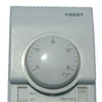 China NO Battery Room Temperature Thermostat For Fcu With 220VAC -240VAC Power Supply on sale