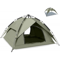 Best 7.4lbs Waterproof Dome Pop Up Camping Tent For Family wholesale