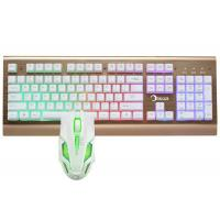 Cheap Easy Operation Pc Gaming Keyboard And Mouse Set Water Resistant Design for sale