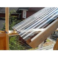 Best Clear Lexan Corrugated Polycarbonate Panels , Corrugated Skylight Panels wholesale