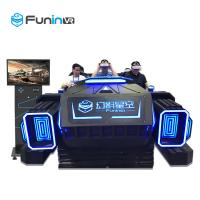 Best 6 Seats 9D Virtual Reality Cinema VR Multiplayer Game Car Equipment With ISO9001 wholesale