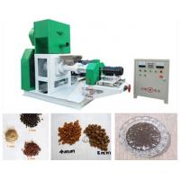 China Automatic Floating Fish Feed Extruder Machine , Feed Production Machine on sale