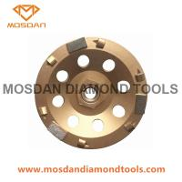 Buy cheap 5 Inch PCD Grinding Diamond Wheel with 3 Bars from wholesalers