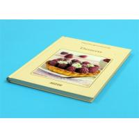 Best Gloss Lamination Customized Cookbook Printing , Hardcover A4 Book Printing wholesale
