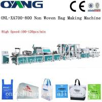 Cheap high speed Non Woven Bag Making Machine for sale