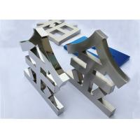 Best Mirror Customized LED Channel Letters for Advertising Non Illuminated wholesale