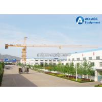 High Efficiency 6 Tons Base Travelling Tower Crane With Ballast Type Foundation