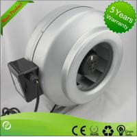 Best High Efficiency Circular Inline Duct Blower , Centrifugal Ducted Exhaust Fan wholesale